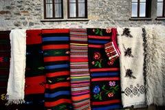 ζωηρόχρωμη κουβέρτα Στοκ Εικόνα