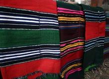 ζωηρόχρωμη κουβέρτα Στοκ Φωτογραφίες