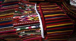 ζωηρόχρωμη κουβέρτα Στοκ φωτογραφία με δικαίωμα ελεύθερης χρήσης