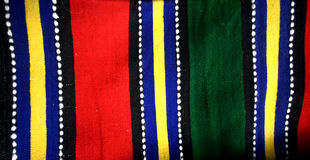 ζωηρόχρωμη κουβέρτα Στοκ φωτογραφίες με δικαίωμα ελεύθερης χρήσης