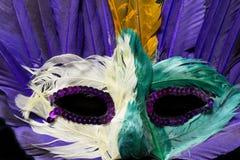 Ζωηρόχρωμη μάσκα της Mardi Gras Στοκ φωτογραφίες με δικαίωμα ελεύθερης χρήσης