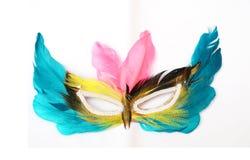 ζωηρόχρωμη μάσκα Στοκ εικόνες με δικαίωμα ελεύθερης χρήσης
