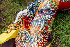Ζωηρόχρωμη μάσκα Phi TA Khon Στοκ εικόνες με δικαίωμα ελεύθερης χρήσης