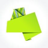 ζωηρόχρωμη ομιλία origami φυσα&lambda Στοκ Φωτογραφία