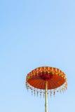 ζωηρόχρωμη ομπρέλα Στοκ Φωτογραφία