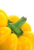 ζωηρόχρωμη πάπρικα κίτρινη Στοκ εικόνα με δικαίωμα ελεύθερης χρήσης
