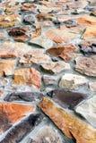 ζωηρόχρωμη πέτρα κατασκε&upsilo Στοκ Εικόνες