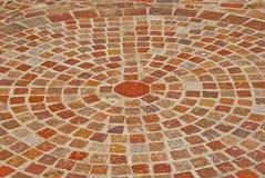 ζωηρόχρωμη πέτρα κύκλων Στοκ εικόνα με δικαίωμα ελεύθερης χρήσης