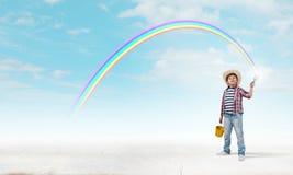 Ζωηρόχρωμη παιδική ηλικία Στοκ Εικόνα