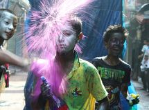 Ζωηρόχρωμη παιδική ηλικία Στοκ φωτογραφία με δικαίωμα ελεύθερης χρήσης