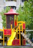 ζωηρόχρωμη παιδική χαρά Στοκ εικόνα με δικαίωμα ελεύθερης χρήσης