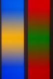 Ζωηρόχρωμη πολυ χρωματισμένη de-στραμμένη αφηρημένη θαμπάδα φωτογραφιών Στοκ Εικόνες