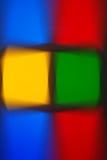 Ζωηρόχρωμη πολυ χρωματισμένη de-στραμμένη αφηρημένη θαμπάδα φωτογραφιών Στοκ φωτογραφίες με δικαίωμα ελεύθερης χρήσης