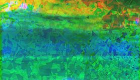 Ζωηρόχρωμη πράσινη περίληψη Στοκ φωτογραφία με δικαίωμα ελεύθερης χρήσης