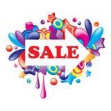 ζωηρόχρωμη πώληση βελών Ελεύθερη απεικόνιση δικαιώματος