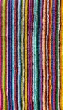 Ζωηρόχρωμη ριγωτή πετσέτα παραλιών στοκ φωτογραφίες με δικαίωμα ελεύθερης χρήσης