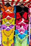 Ζωηρόχρωμη σειρά θερινών φορεμάτων Στοκ εικόνες με δικαίωμα ελεύθερης χρήσης