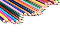 Ζωηρόχρωμη σειρά μολυβιών Στοκ φωτογραφίες με δικαίωμα ελεύθερης χρήσης