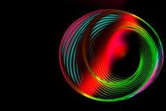 Ζωηρόχρωμη σπειροειδής αφηρημένη κυκλική περιστρεφόμενη σπείρα στοκ εικόνες