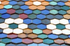 ζωηρόχρωμη στέγη Στοκ Εικόνες