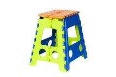 Ζωηρόχρωμη σύγχρονη πλαστική καρέκλα Στοκ Φωτογραφία