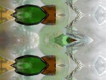 Ζωηρόχρωμη σύσταση επιφάνειας γυαλιού λεκέδων Στοκ φωτογραφίες με δικαίωμα ελεύθερης χρήσης