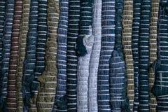 ζωηρόχρωμη σύσταση ταπήτων Υπόβαθρο του ανδαλουσιακού τάπητα Jarapa Στοκ εικόνες με δικαίωμα ελεύθερης χρήσης