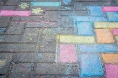 Ζωηρόχρωμη τέχνη οδών Στοκ φωτογραφία με δικαίωμα ελεύθερης χρήσης