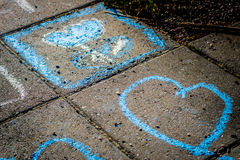 Ζωηρόχρωμη τέχνη οδών Στοκ Φωτογραφίες