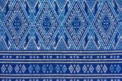 Ζωηρόχρωμη ταϊλανδική επιφάνεια κουβερτών ύφους μεταξιού handcraft περουβιανή στενή επάνω περισσότερο αυτό το μοτίβο & περισσότερ Στοκ Φωτογραφία