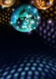 ζωηρόχρωμη υλοτομία disco Στοκ εικόνες με δικαίωμα ελεύθερης χρήσης