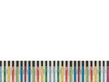 ζωηρόχρωμη φραγή βιβλίων πρ&alph Στοκ Φωτογραφία