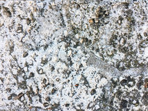 Ζωηρόχρωμη φυσική σύσταση υποβάθρου πετρών στενή σύσταση πετρών λεπτομέρειας ανασκόπησης αρχιτεκτονικής επάνω Κλείστε επάνω ενός  Στοκ φωτογραφία με δικαίωμα ελεύθερης χρήσης