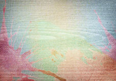 Ζωηρόχρωμη χρωματισμένη ξύλινη σύσταση Στοκ φωτογραφία με δικαίωμα ελεύθερης χρήσης