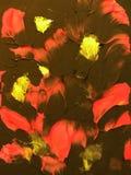 Ζωηρόχρωμη χρωματισμένη περίληψη Στοκ φωτογραφία με δικαίωμα ελεύθερης χρήσης
