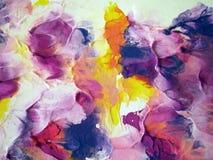 Ζωηρόχρωμη χρωματισμένη περίληψη Στοκ Εικόνα