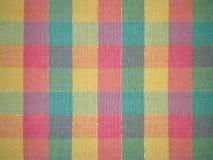 ζωηρόχρωμη όψη οδών της Ισπανίας αγοράς της Γρανάδας υφασμάτων ανασκόπησης Στοκ Εικόνες