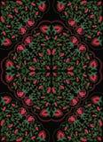 Ζωηρόχρωμη floral διακόσμηση Στοκ Εικόνες