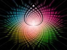 Ζωηρόχρωμη twirl ανασκόπηση Διανυσματική απεικόνιση
