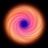 Ζωηρόχρωμη twirl ανασκόπηση Στοκ Φωτογραφία