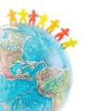Έννοια ειρήνης παγκόσμιων ανθρώπων Στοκ εικόνες με δικαίωμα ελεύθερης χρήσης