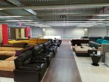 Ζωηρόχρωμοι καναπέδες Στοκ Εικόνες