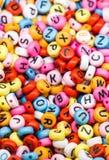 Ζωηρόχρωμοι κύβοι επιστολών αλφάβητου Στοκ Φωτογραφίες