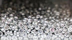 Ζωηρόχρωμοι κύβοι επιστολών αλφάβητου Στοκ φωτογραφίες με δικαίωμα ελεύθερης χρήσης