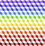 ζωηρόχρωμοι κύβοι Στοκ εικόνα με δικαίωμα ελεύθερης χρήσης