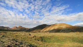 Ζωηρόχρωμοι λόφοι σε Thingvellir στοκ φωτογραφίες