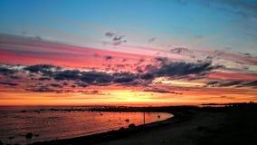 ζωηρόχρωμοι ουρανοί Στοκ Φωτογραφίες