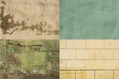 Ζωηρόχρωμοι φορεμένοι τοίχοι Αβάνα #1 στοκ εικόνες