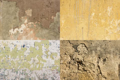 Ζωηρόχρωμοι φορεμένοι τοίχοι Αβάνα #4 στοκ εικόνα