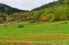 ζωηρόχρωμοι λόφοι Στοκ φωτογραφία με δικαίωμα ελεύθερης χρήσης